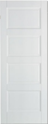 Internal Primed White Contemporary Solid Door